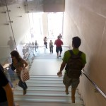 apple store barcelona glass stairs