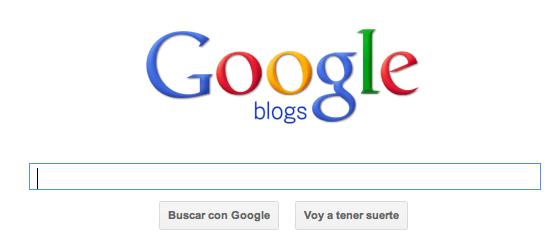 Busqueda de Blogs Google