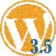 Nueva actualización de WordPress 3.5